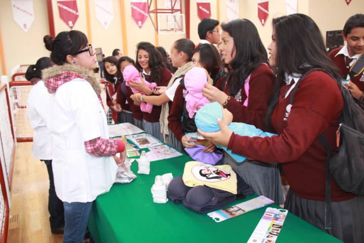 Fortalecen estrategias de prevención de embarazos en Tlaxcala