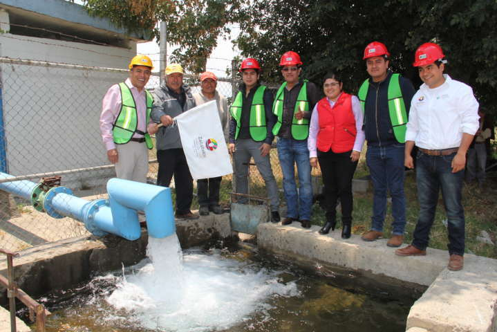 Más agua potable mejora la calidad de vida de los pobladores: alcalde