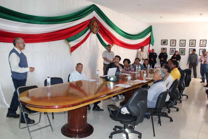 Evalúa alcalde avances sobre obras que se están realizando en la comuna