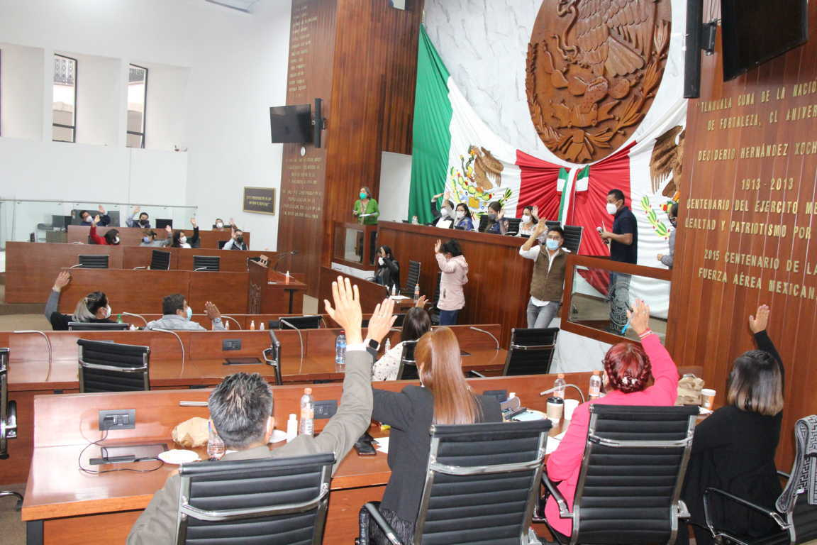 Crea Congreso nueva ley orgánica de la administración pública de Tlaxcala