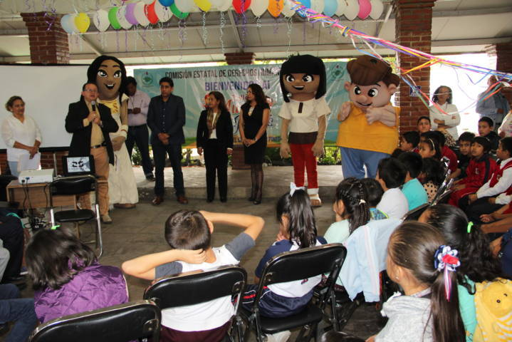 """Con """"Mundi Risas"""" promovemos los derechos humanos en los niños: VMCPP"""