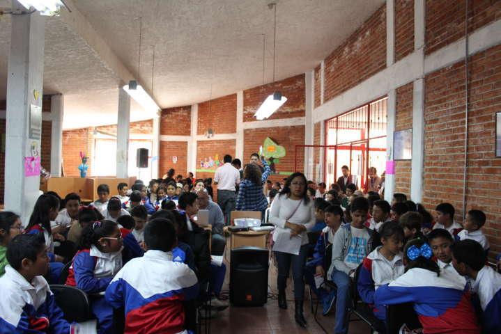 Ayuntamiento realiza estrategias de difusión de la cultura de la no violencia