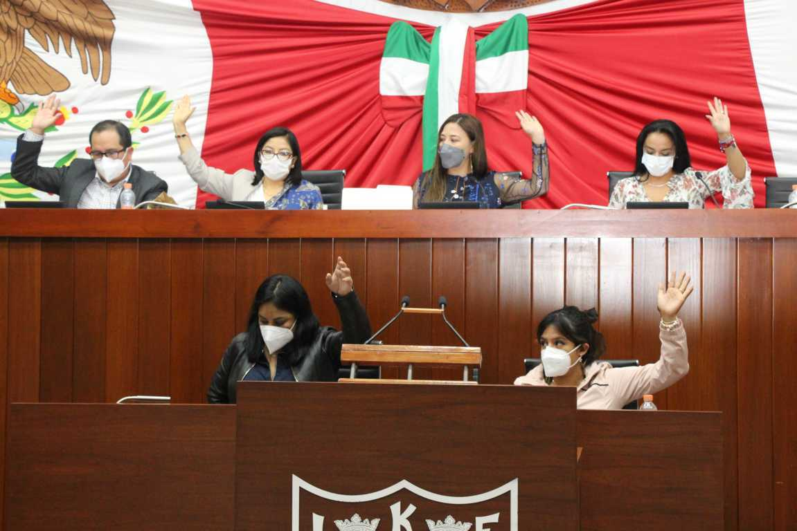 Aprueba Congreso de Tlaxcala reformas a tres ordenamientos locales
