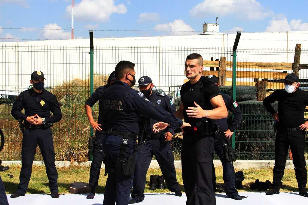 La SSC y la embajada de España en México realizan curso en tácticas policiales