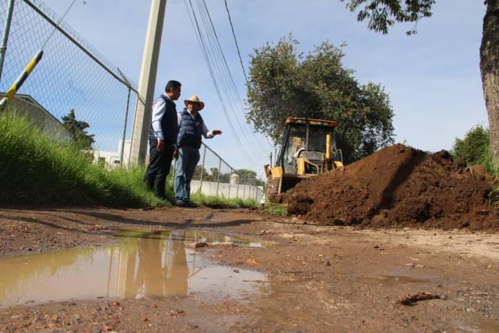 Alcalde mejora la imagen urbana de la Cuauhtémoc y de la Manantiales