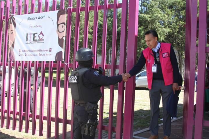 Implementará Policía Estatal operativo para la jornada electoral del domingo