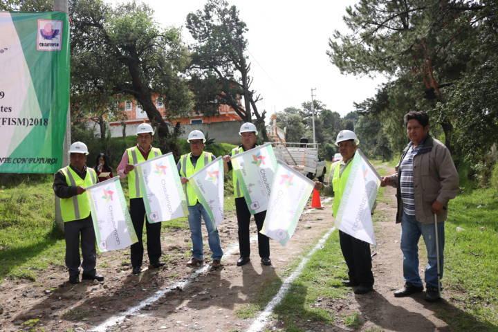 Invierte Ayuntamiento De Chiautempan más de 2 millones de pesos en obra pública