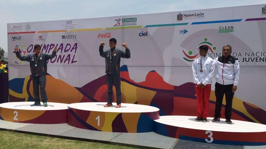 Gana Ezequiel Hernández medalla de bronce para Tlaxcala