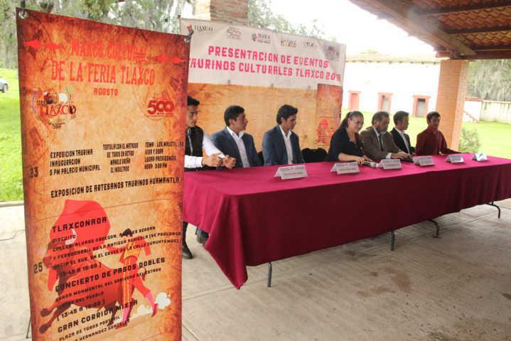 Alcaldesa da a conocer la Corrida Mixta y el Festival Cultural de la Feria Tlaxco 2019