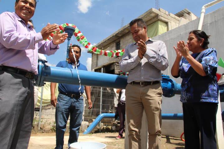 Alcalde mejora la infraestructura hidráulica de la Santísima rehabilitando pozo