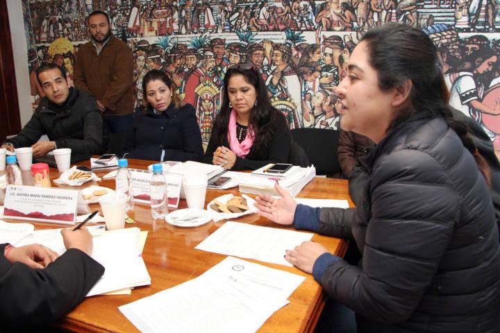 Encabeza Tlaxcala primera mesa de trabajo para identificar  rutas de víctimas de trata de personas