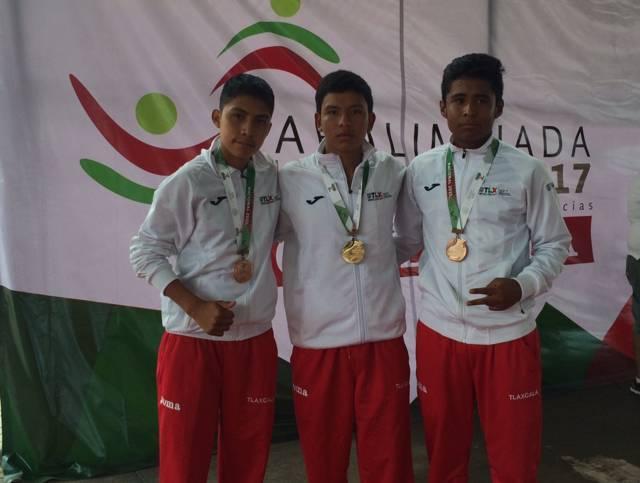 Gana Tlaxcala siete medallas en la Paralimpiada Nacional 2017