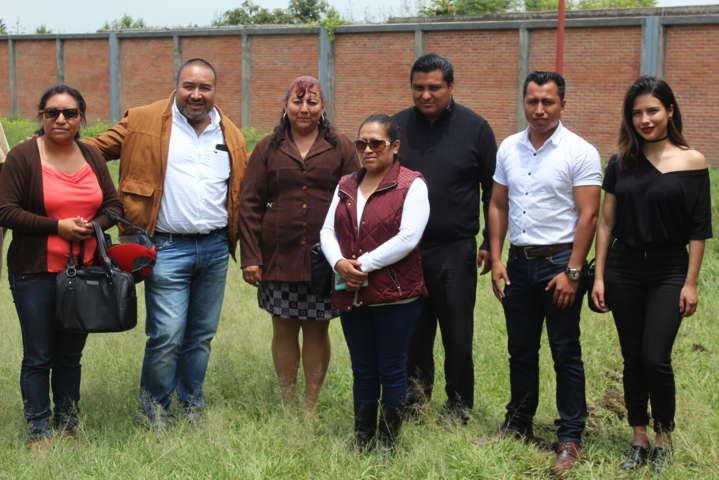 Escuela Leonarda Gómez Blanco contaran con área de esparcimiento: alcalde