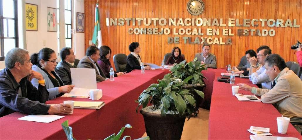 Sostiene INE e ITE primera reunión de trabajo por elecciones extraordinarias