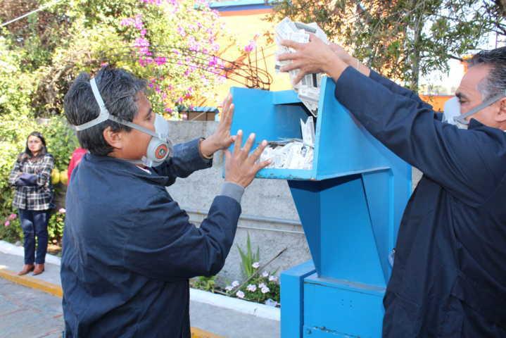 Destruyen en Tlaxcala 7, 614 formatos de credencial y credenciales electorales