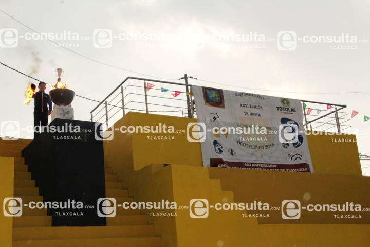 Alcalde Pérez Briones puso en marcha la XXVI edición de la copa Maxixcatzin