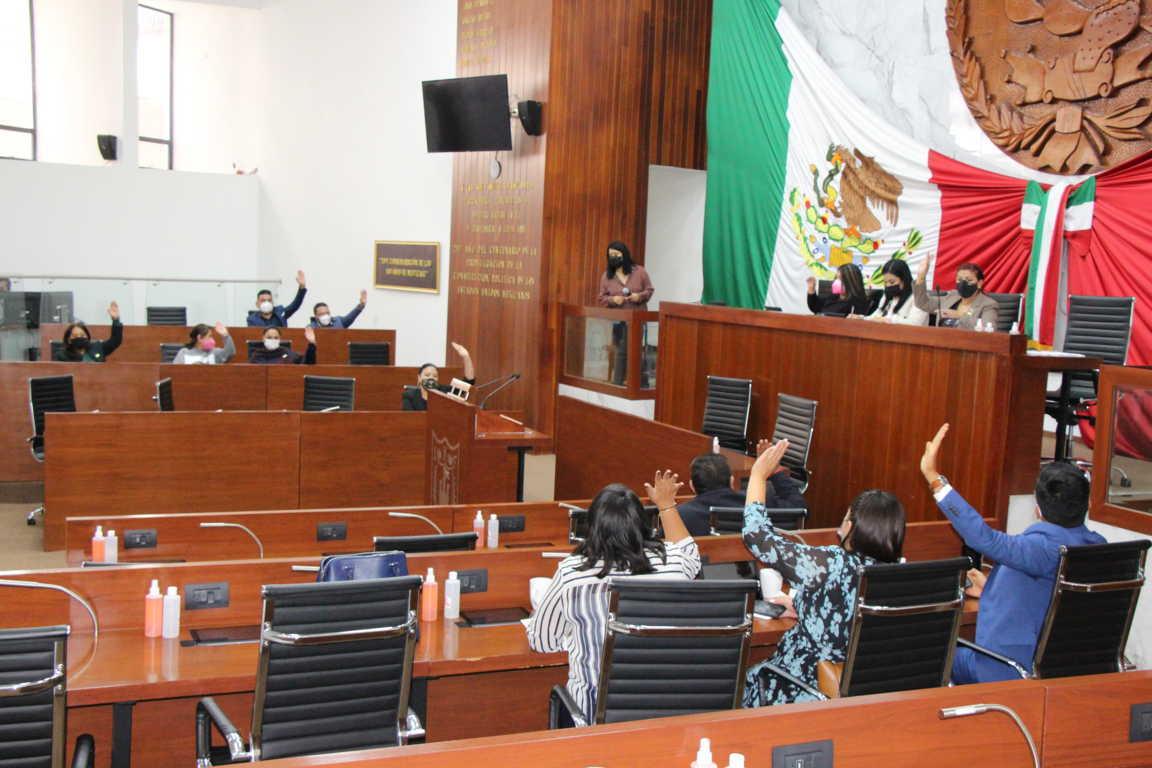 Aprueba Congreso de Tlaxcala leyes de ingresos para el 2021 de cinco municipios
