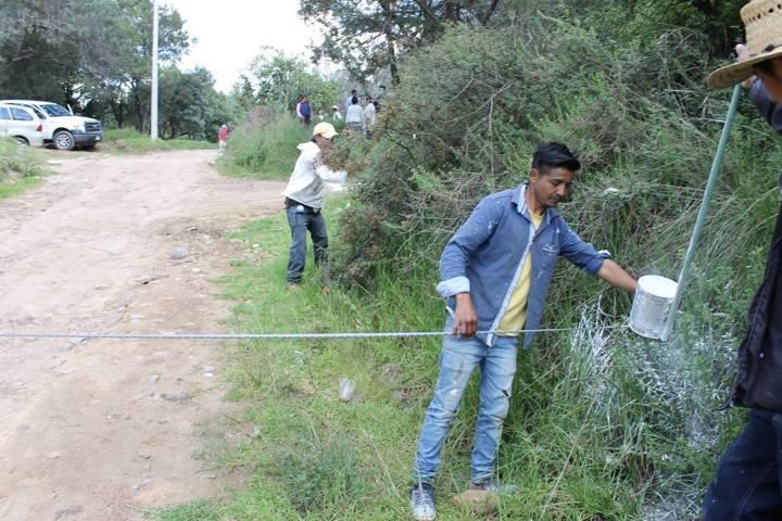 Alcalde pone en marcha los trabajos de mejoramiento de la calle Juárez