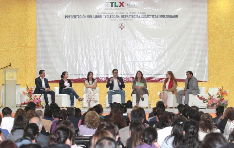 Estrategias de escuelas multigrado en Tlaxcala son ejemplo en el país