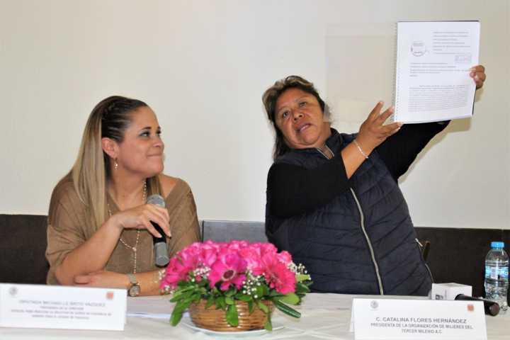 Coadyuvan con ONG para realizar solicitud de alerta de género para el Estado de Tlaxcala