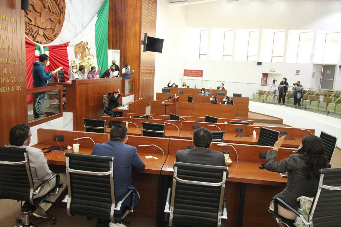 Culmina Congreso del Estado dictaminación de Cuentas Públicas 2020
