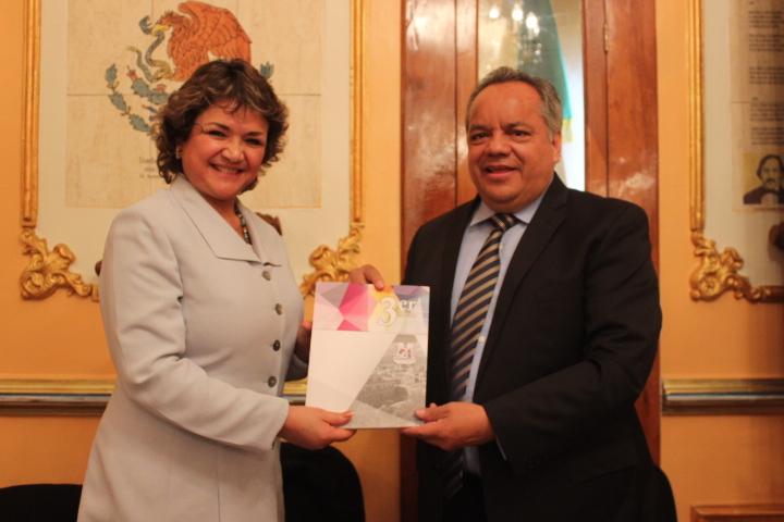 Entrega Alejandro Aguilar López su 3er Informe de actividades