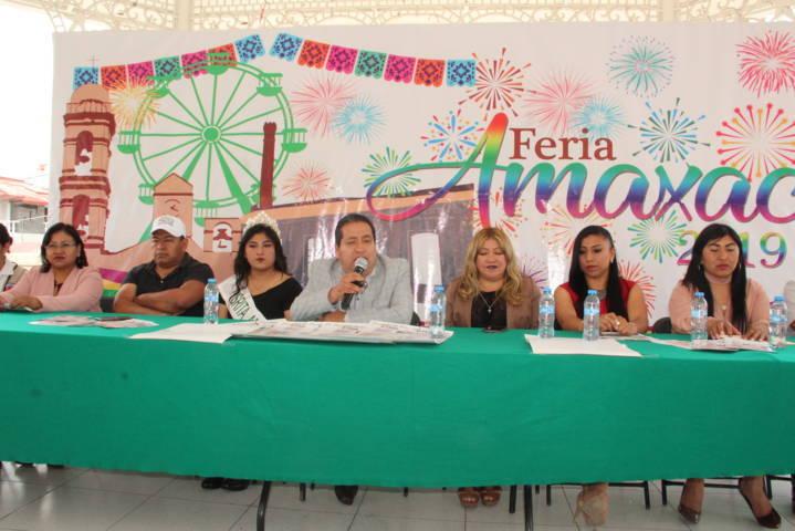 La Feria Amaxac 2019 está diseñada para disfrutarse en grande Carin Molina