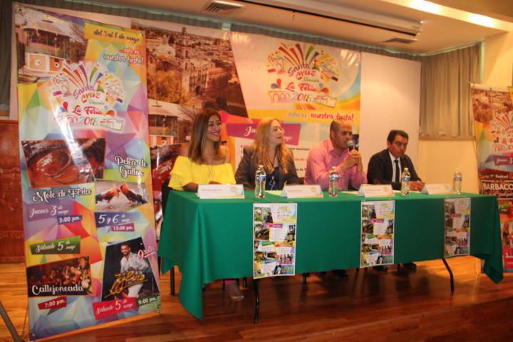 Sanabria Chávez alista su feria Santa Cruz Tlaxcala 2018 del 3 al 6 de mayo