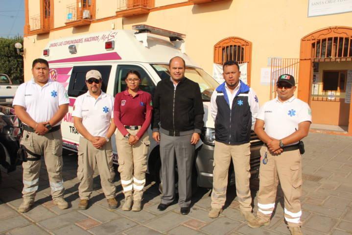 Con esta ambulancia garantizamos los servicios prehospitalarios: alcalde