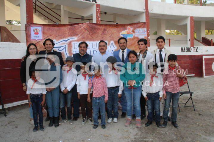 Tetla ya cuenta con una Escuela Taurina Municipal: alcalde
