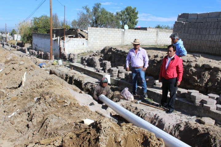 Lima Vázquez beneficia a la 1ra sección con obras de impacto