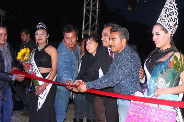 Se inauguró la Feria de Ocotitla tercera sección de Tetla de la Solidaridad