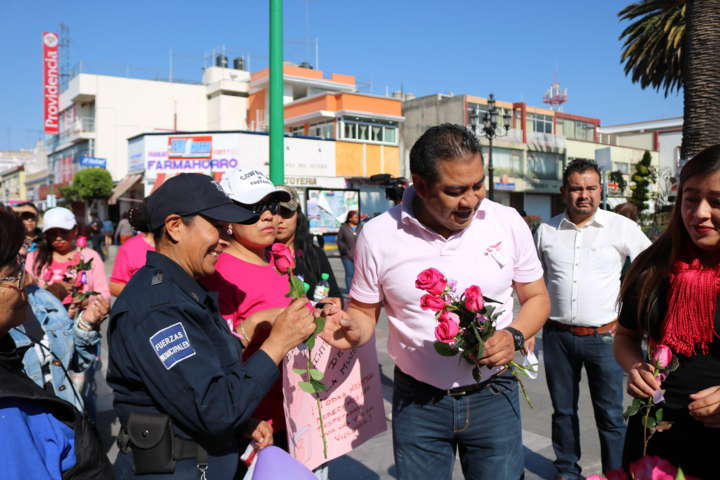 Conmemora Ayuntamiento de Chiautempan Día Internacional de la Mujer