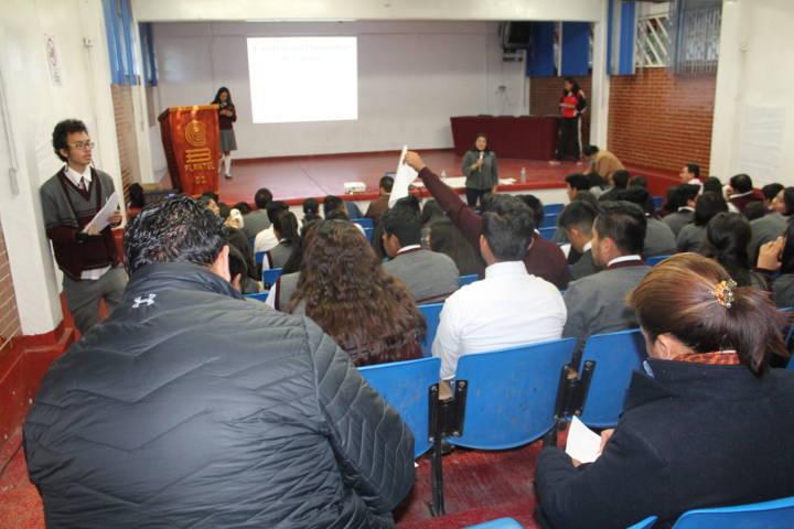 Concreta Cobat  agenda para  programa de interculturalidad en planteles