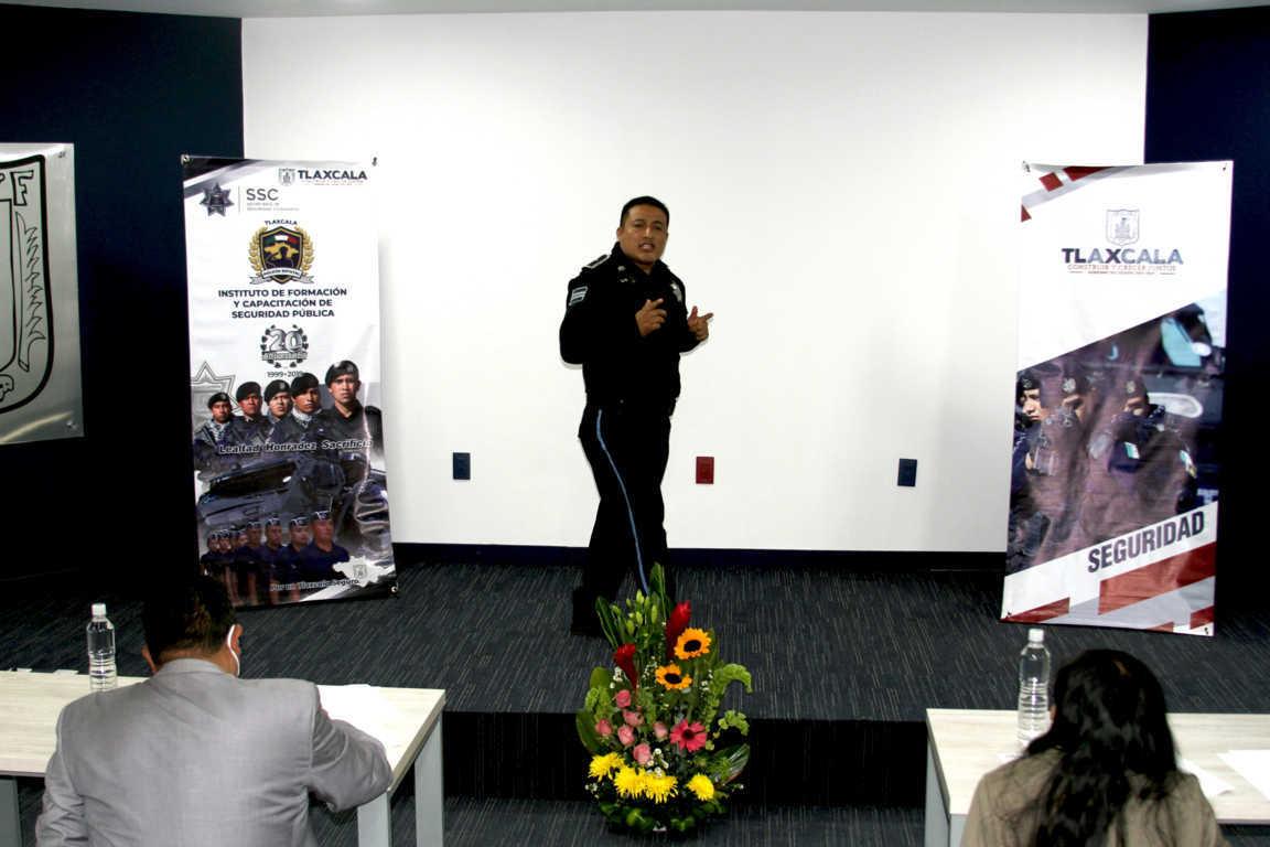 La SSC realiza con éxito el Tercer Concurso de Oratoria Policial Tlaxcala