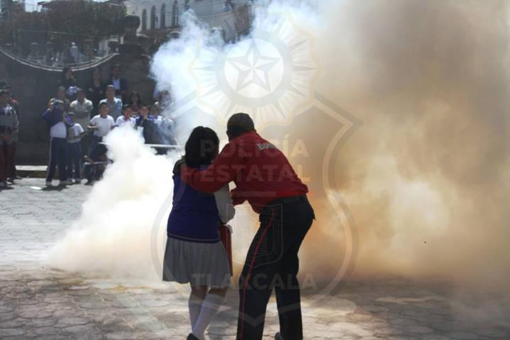 La CES clausura con éxito la 7ma Semana de Prevención del Delito en Tetlanohcan