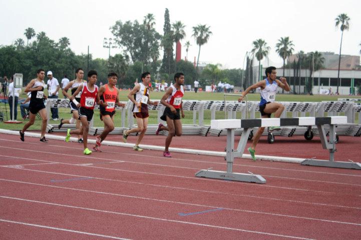 Inicia partición de tlaxcaltecas en atletismo de Olimpiada Nacional