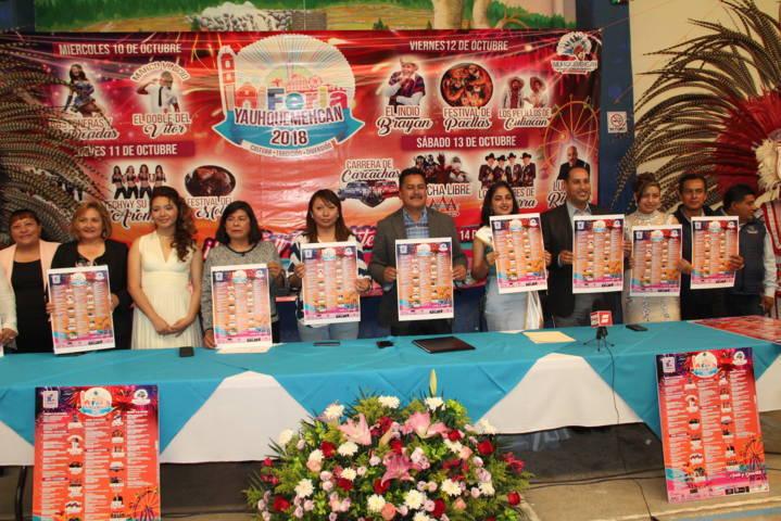 Alcalde alista la Feria Cultura, Tradición y diversión 2018 del 10 al 14 de octubre