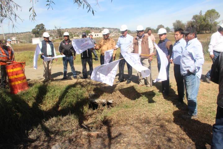 Tepactepec contará con un encortinado de drenaje sanitario: alcalde