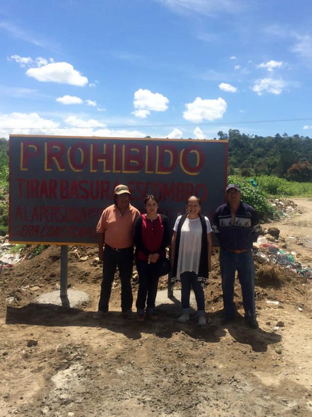 Dirección de Ecología de Texóloc emprende acciones a favor del medio ambiente