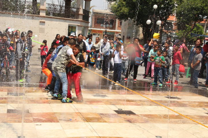 El DIF municipal arrancó miles de sonrisas en el festejo del Día del Niño