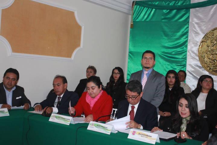 Congreso del Estado declaro a Zacatelco Capital por un Día