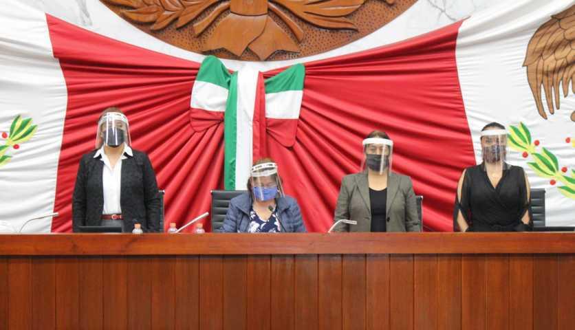 Designan a María de Lourdes Montiel Cerón, como presidenta de la Comisión Permanente
