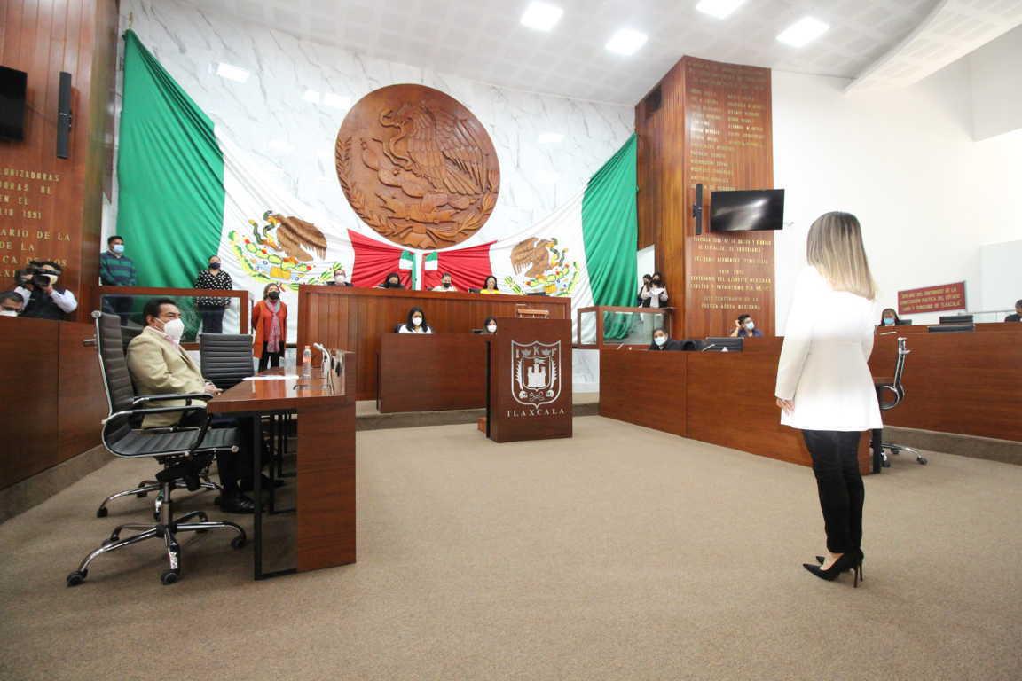 Nombra Congreso a Anel Bañuelos como magistrada interina del TSJE