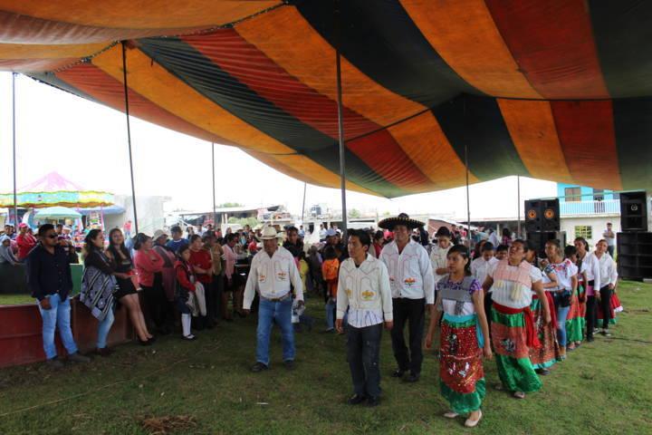 Inició la feria de San Isidro Buensuceso, la festividad es en honor a San Isidro Labrador
