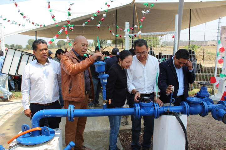 Ayuntamiento pone en marcha nuevo pozo de agua en la comunidad del Cristo