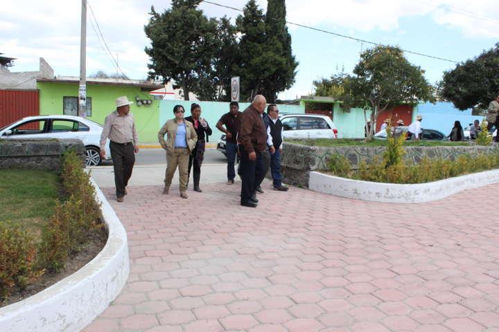 """Calpulalpan: Verifica VHR obras de impacto en """"San Mateo Actipan"""""""