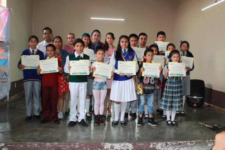 Querzalken Rosales fue designado como niño DIFusor 2019 en Tetla
