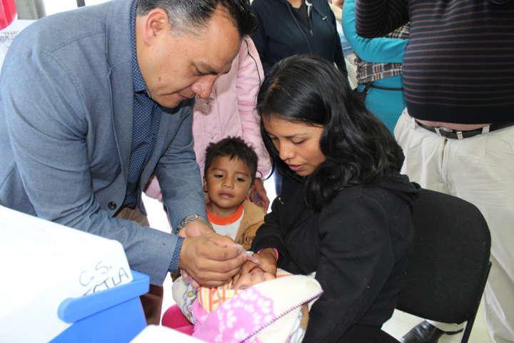 Comienza la Semana de Vacunación en Tetla de la Solidaridad