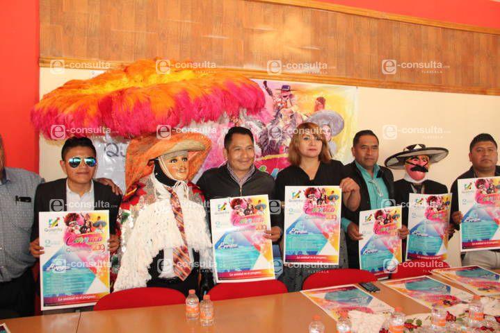 El carnaval de Quilehtla 2019 arranca este 2 de marzo con 9 camadas: alcalde